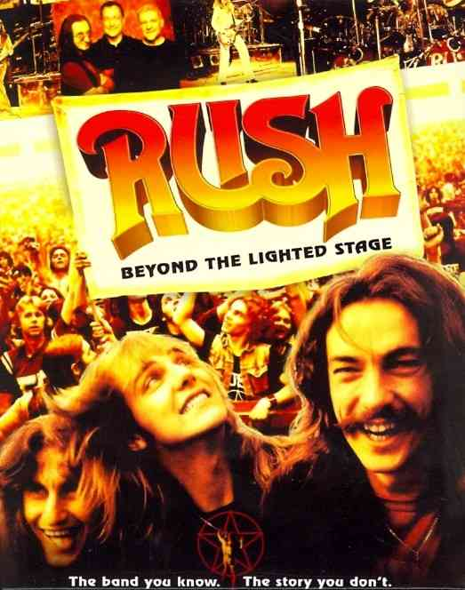 BEYOND THE LIGHTED STAGE BY RUSH (Blu-Ray)